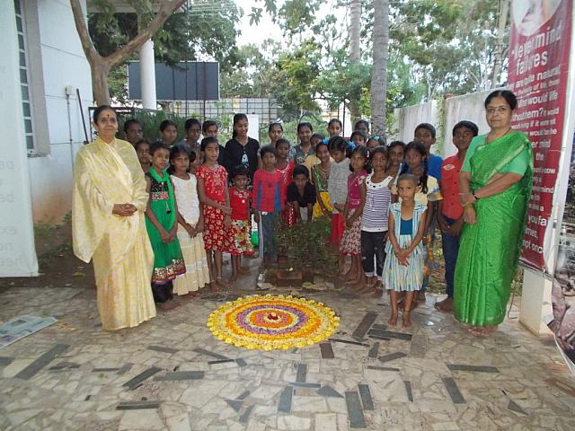 Anadalaya chidren celebrated onam