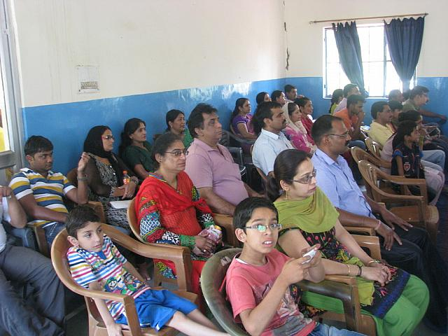 Parents at the Concluding Session