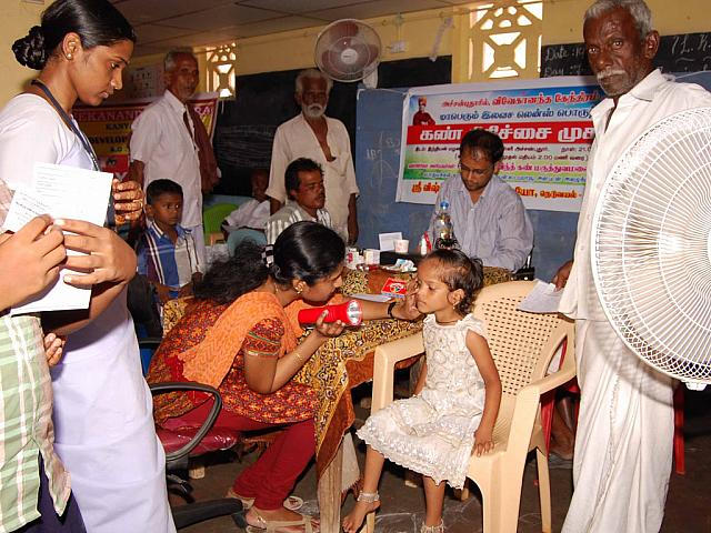 Achanputhoor eye camp