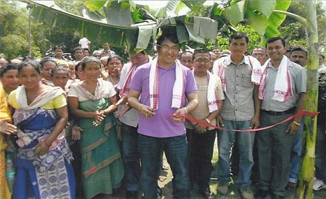 Inauguration of Approach Road