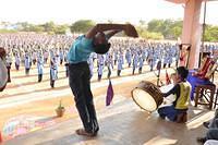 Mass Suryanamaskaram at Kovilpatti, Tamilnadu