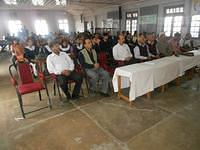 A section of audience during the Utho! Jaago! Bhashan Pratiyogita organised by VK Shimla on the occasion of VIswa Bandhutva Diwas