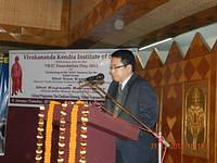 VKIC Foundation Day 2012 - Chief Guest Sri Som Kamei