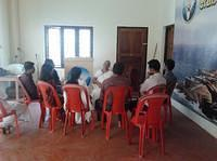 Man. LakshmiDidi interacting with Software Profeesionals on Karma Yoga & Team Building