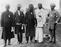 swamiji Chicago,September 1893 (East Indian group at Parliament of Religions)