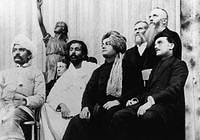 swamiji Chicago,September 1893 (on the platform of the Parliament of Religions)