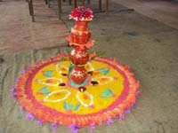 Matri Puja conducted at VKV Jairampur