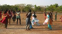 Girls in the Games during Vijay Poorna Vijay program at Brahmavar, Karnataka
